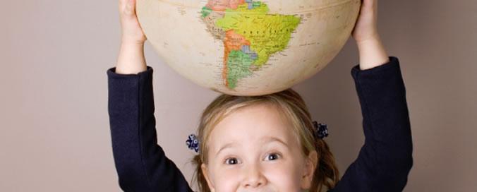 Girl holding the world on her head | NLP World