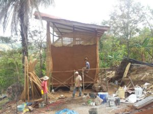 costa rica house being built