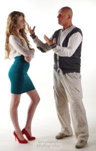 man woman arguing