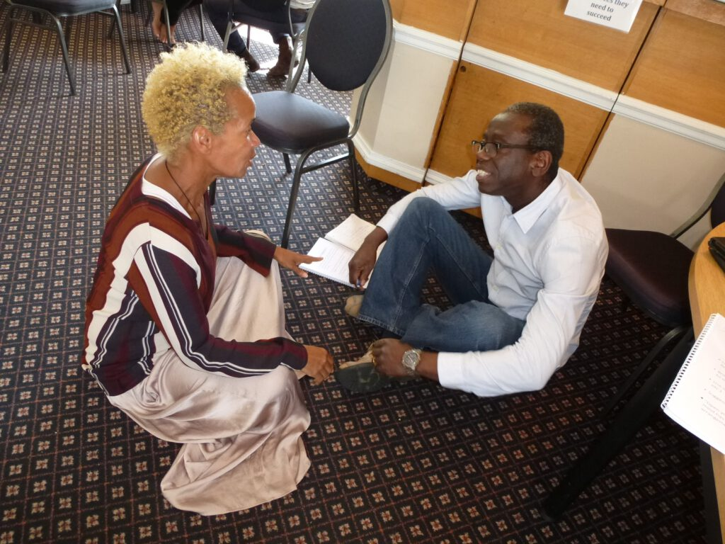 black and coloured nlp practitioners